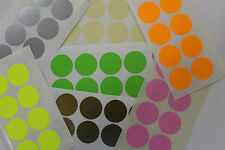 COLOUR CODE STICKERS 25MM ROUND - 120 LABELS PER PACK
