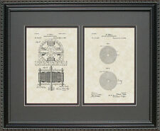 Patent Art - Tesla Motor & Coil - Engineer Inventor Science Print Gift T2279-2