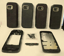 for nokia 5800 full body / body parts faceplate housing brown / black / blue new
