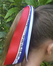 Team/School Colors Ribbon Streamer Pony-O, Choose Your Favorite Sport & Colors