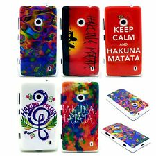 Select Style Iso Colorful Painting TPU Gel Soft Case for Nokia Lumia 520 N520