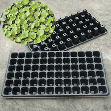 2 X Plastic Plant Bedding Trays Seed Starter Cultivate Hydroponics 50/128 Cells