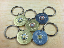 Father's Day Dad Gift Bullet Keychain / Key Chain Zipper Pull Handle Range Bag