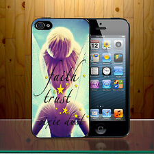 Tinker Bell Disney Princess Pixie Dust Quote Peterpan Cute Hard Phone Case Cover