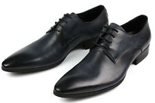 NEW Men's Cow Leather Shoes Dress/Formal Business W1818~2 Classic 5~12 37~45 HOT