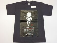 SICKOUTFITS AMERIKAN MOBSTERS Streetwise T Shirt in Charcoal