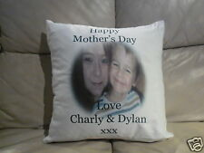 Personalised Cushion - Mother's Day - Includes Photo & Wording