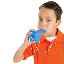 (1) Red or Blue Giant Whistle Speech Therapy Sports Event Ages 3+