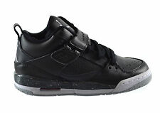 Jordan Flight 45 (BG) Big Kids Shoes Black/White-Anthracite-Wolf Grey 644869-005