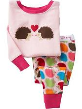 Long Sleeve Kid's Girls Sleepwear Pyjama Set