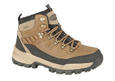 New Men Northwest Territory Hiking Walking Trail Boots Brown Leather FAB786