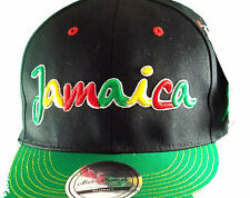 state property snapback flat peak jamaican baseball cap various colours one size