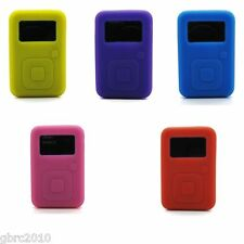 New Sandisk Sansa Clip Plus Silicone Skin Case Black Blue Red White Green Purple