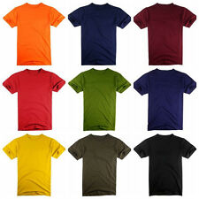 Gifts for Men Mens Short Sleeve T Shirts 100% Cotton Moisture Wicking Tee S-2XL