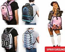 Mens Womens Girls Boys Designer SPRAYGROUND Backpack Bag Fashion Trendy Hiking