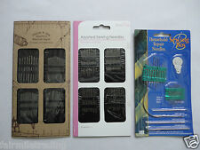 Haberdashery Hand Sewing Needles Repair Assorted Embroidery Crewel Upholstery