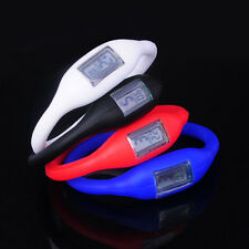 New Silicone Digital Jelly Anion Negative Ion Sports Bracelet Wrist Watch