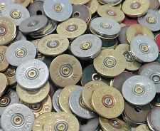 Thin Cut POLISHED (In Lots of 12!) Shotgun Shell Heads Craft Jewelry Supplies