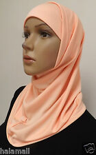 Fashion 2 Piece Amira Hijab Muslim NEW Hijab Islamic Scarf (Multi colors) .