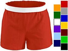 NEW Soffe Women's Cheerleading, All Sports Short Shorts M037, XS-XL, 14 colors