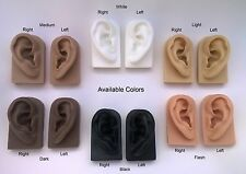 Acupuncture Instructional Aid Soft Silicone Left or Right Ear Display Models