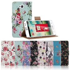 PU Leather Stand Case Wallet Protective Cover For LG Optimus L70 D325 MS323