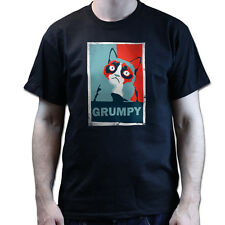 THE GRUMPY CAT T-SHIRT NO! Nope OBEY Style T-shirt