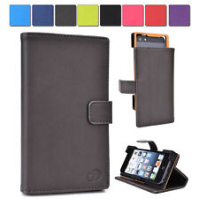A Kroo Unisex Transforming Universal Stand Folio Flip Cover for Mobile Cell