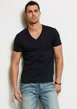 New Armani Exchange AX Mens Muscle Slim Fit Pima V Neck Tee Shirt
