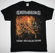 CARNAGE DARK RECOLLECTIONS 90 NIHILIST DISMEMBER DEATH METAL NEW BLACK T-SHIRT