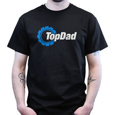 TOP DAD GEAR T-SHIRT FATHERS DAY GIFT PRESENT SHIRT MENS ALL SIZES BRAND NEW