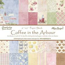Maja Design - Coffee in the Arbour 12 x 12 Paper You Choose - The Rubber Buggy