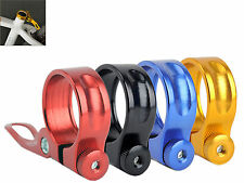 Bicycle Road Bike Cycle Seat Post Clamp Quick Release QR 28.6mm 31.8mm 34.9mm