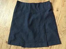 NEW Pack of 2 Navy Blue School Skirt Elasticated Waist at back (up to age 12-13)