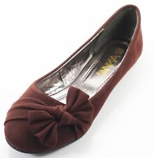 Walstar Suede Ballet Flats Women Shoes Lily