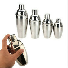 250/350/550/750ml Stainless Steel Bartender Cocktail Martini Drink Shakers Mixer