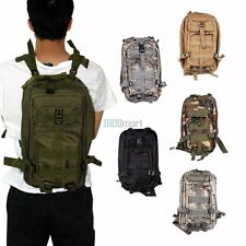 Outdoor Military Tactical MOLLE Hiking Camping Backpack Trekking Rucksack Bag