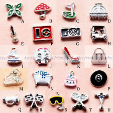 2014 New Mini Floating Charms Free Shipping for Glass Living Memory Lockets 1pc