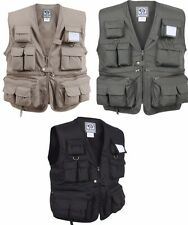 Vest  Uncle Milty's Multi Pocket Travelers Fishing Photography  Rothco 7540