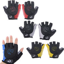 Cycling Bicycle Bike Sport Gel Half Finger  Fingerless Gloves Four Colors M L XL