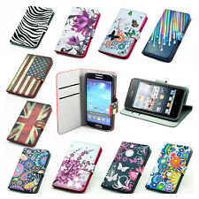 For SONY/ iPhone/ LG/ HUAWEI flower floral wallet leather case