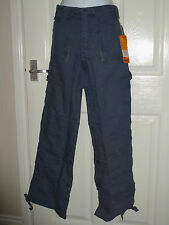 Ladies Roll Up Combat Trousers Cargo Pants. BNWT 8 10 12 16. By Wombat (25)