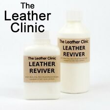 Leather Reviver. Designed to soften hard, brittle and dried out leathers.