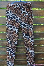Women Lady Leopard Stretch Pencil Skinny Chic Pants Tights 8