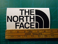 """The North Face Logo Decal Sticker 4"""" or 6.5"""" Jacket Shorts Pants Shirt Hat Gear"""