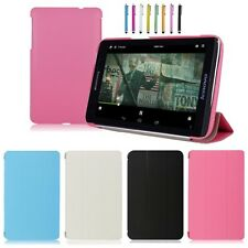 "New Slim 3-Fold PU Leather Stand Case for 7inch Lenovo IdeaTab 7"" A1000 Tablet"