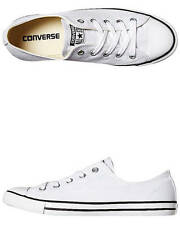 New Converse Women's Chuck Taylor Womens All Star Dainty Lo Shoe Shoes White