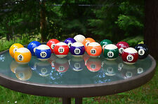 REAL CUSTOM POOL BALL SHIFTER KNOB - ALL COLORS & NUMBERS - MADE IN THE USA