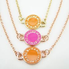 New arrival Classical MARC BY M JACOBS Disk Letters Bracelet 3 colors available