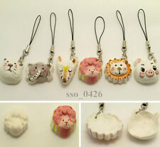 Handmade Cute&Lovely Animal Mobile Cell Phone Charm Strap Accessory Fox Cat